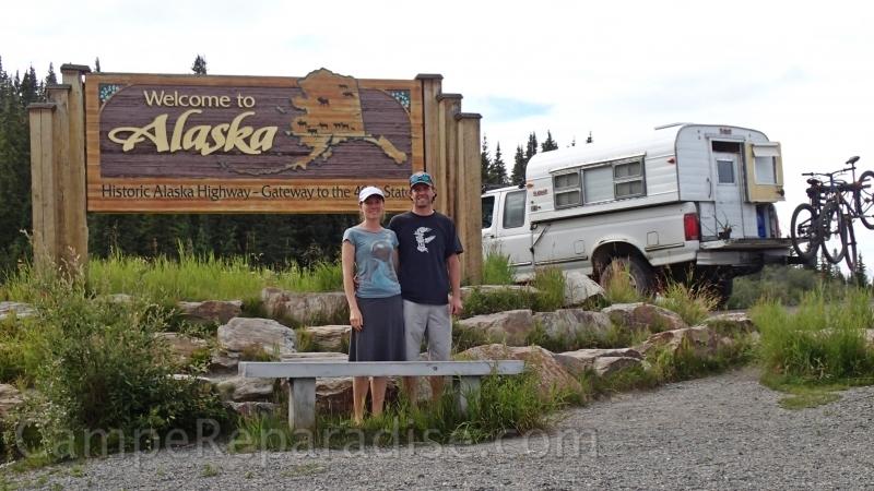 Vintage Alaskan Camper