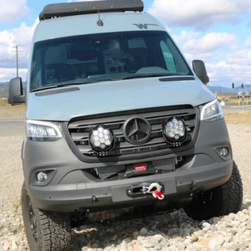 Add versatility with the Owl Sprinter Winch Mount