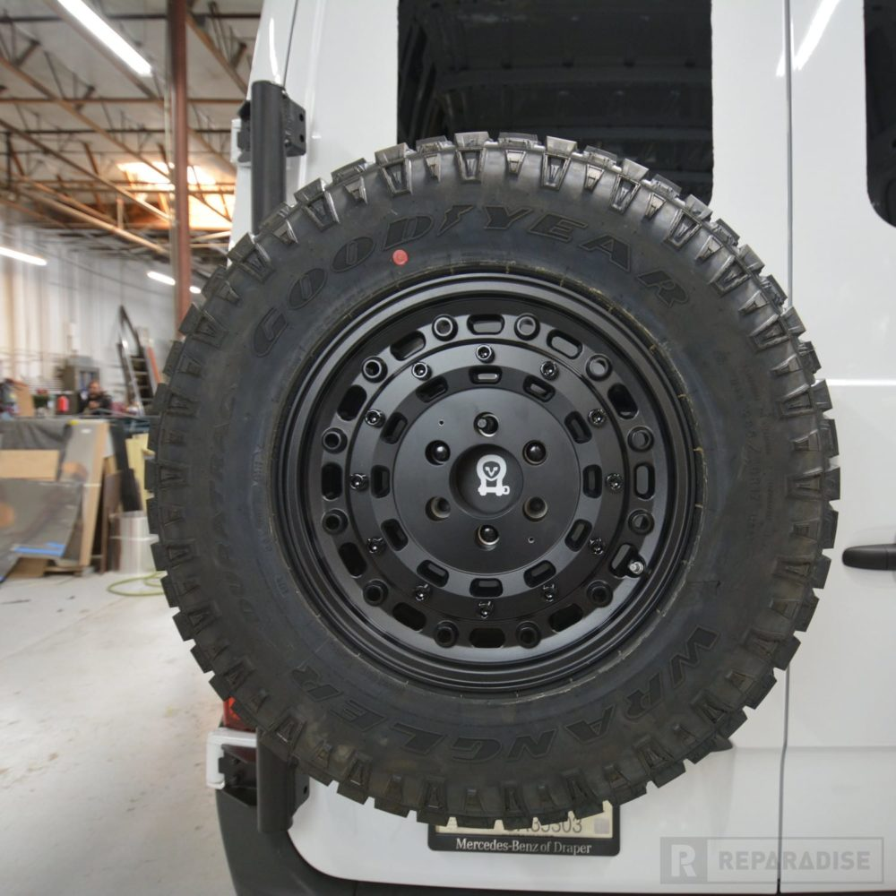 owl-van-vs30-sprinter-spare-tire-carrier-with-265-70-r17-tire-and-black-rhino-rim-dsc_9307